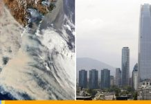 Incendios en Australia: El humo llegó a Chile tras recorrer 1.000 kilómetros