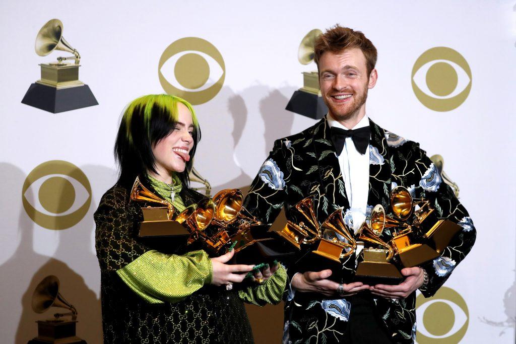 Billie Eilish en los Grammy, gana en las cuatro categoría principales