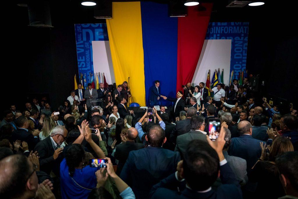 Reelección de Juan Guaidó como presidente de la AN