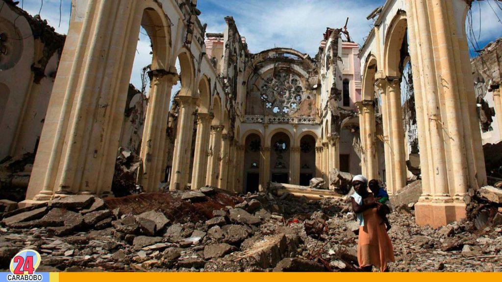 Devastador terremoto en Haití, a 10 años sigue en ruinas