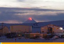 Erupción de volcán en Alaska, declaran alerta roja