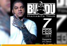 Mamasita Tour 2020: Budú se presentará en Valencia