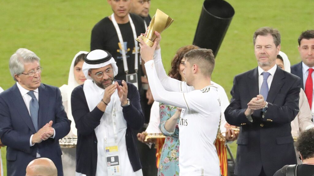 Real Madrid campeón de la Supercopa