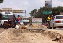 Huecos en paradas del Transmaracay - Huecos en paradas del Transmaracay