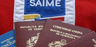 Nuevo aumento del Saime para tramitar pasaportes y prórrogas