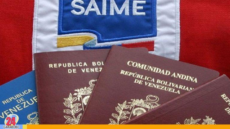 ¡De nuevo! Saime aumentó tarifas para tramitar pasaportes