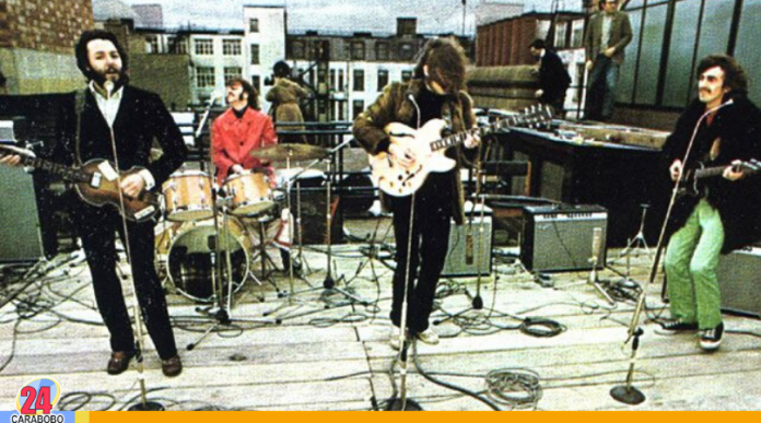 The Beatles en la azotea - The Beatles en la azotea