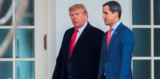 Guaidó en la Casa Blanca es recibido con honores