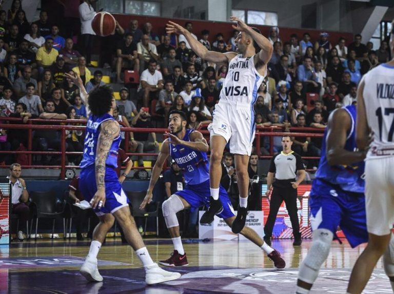 Vinotinto de baloncesto sorprendió a Argentina en la Americup