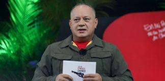 Diosdado Cabello en Caracas - Diosdado Cabello en Caracas