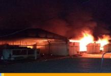 Incendio en almacén de Cantv y Movilnet dejó grandes pérdidas