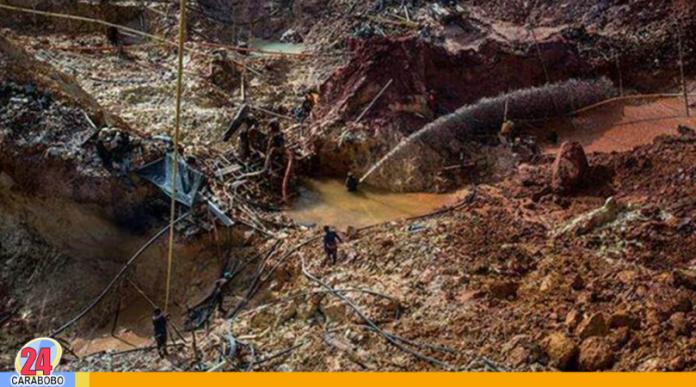Derrumbe de mina en El Callao dejó tres muertos - Noticias 24 Carabobo