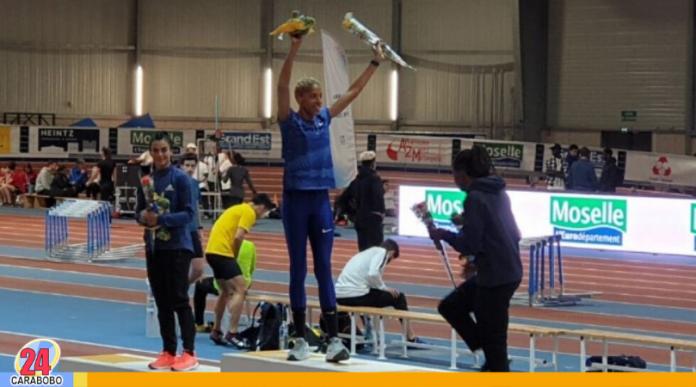 Yulimar Rojas en Francia conquista con medalla de oro y salto récord