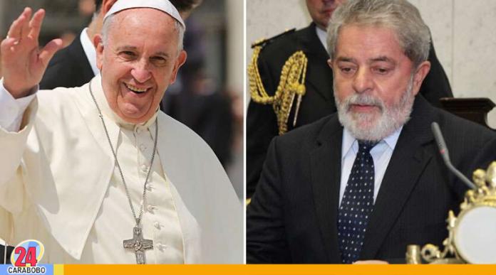 El Papa Francisco y Lula se reunirán en la Santa Sede