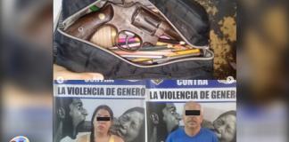 Arma en una cartuchera - Arma en una cartuchera