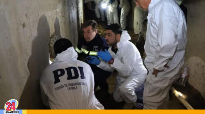 Robar un banco, era meta de las cinco personas detenidas en Chile