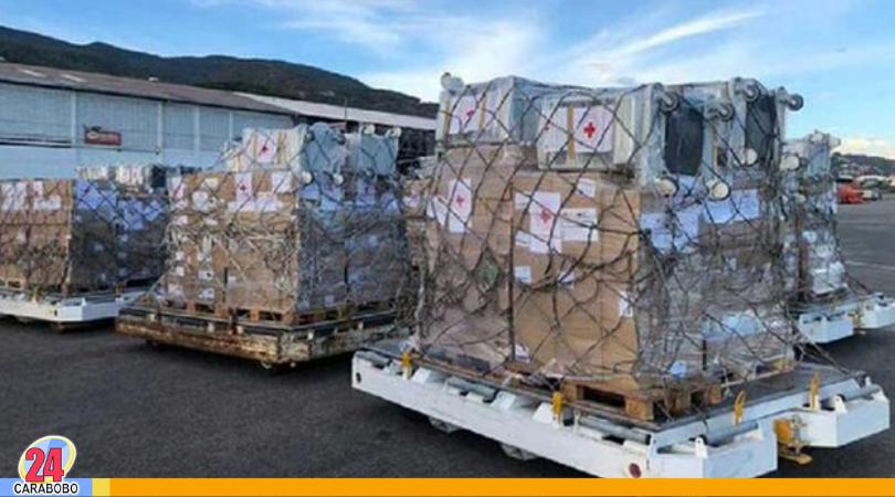 Ayuda humanitaria para Venezuela fue recibida por la Cruz Roja