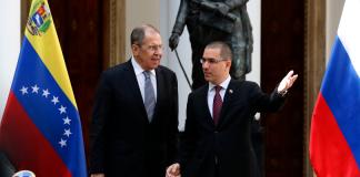 Canciller de Rusia en Venezuela para visita oficial