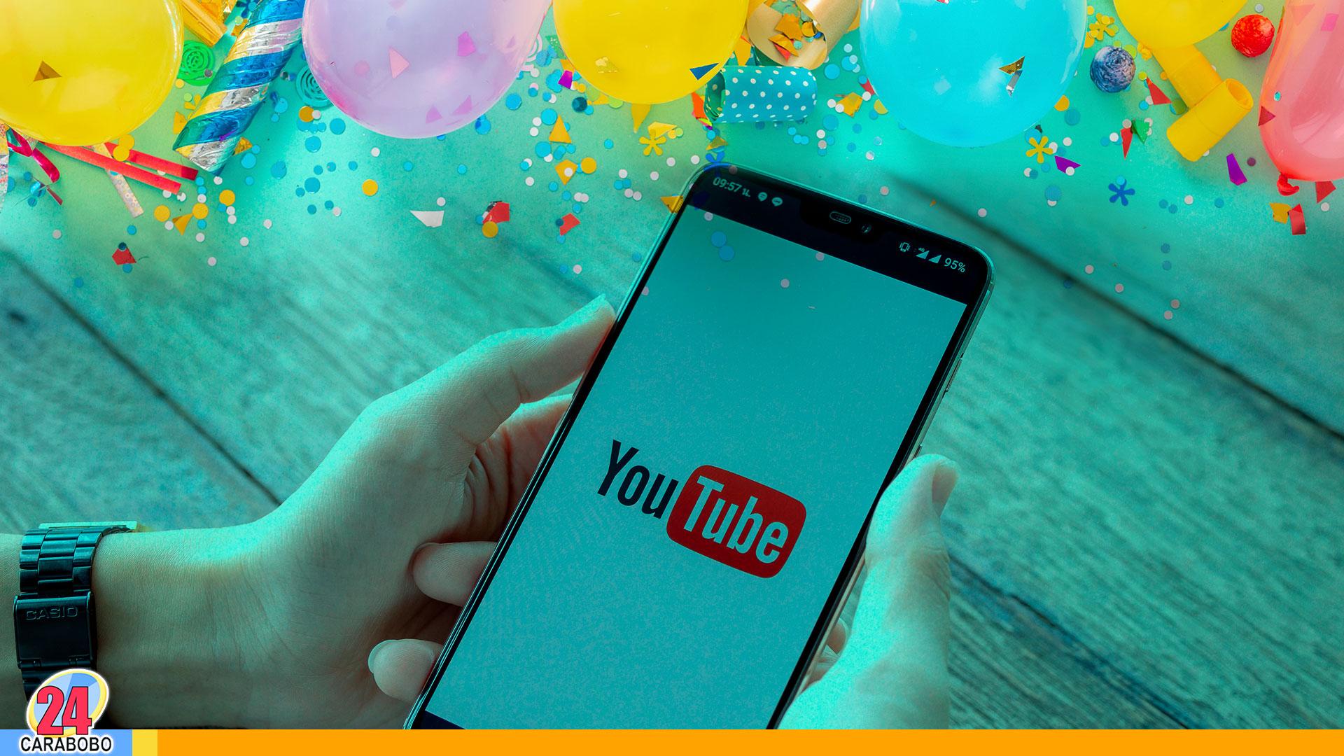 Youtube de aniversario - noticias 24 carabobo