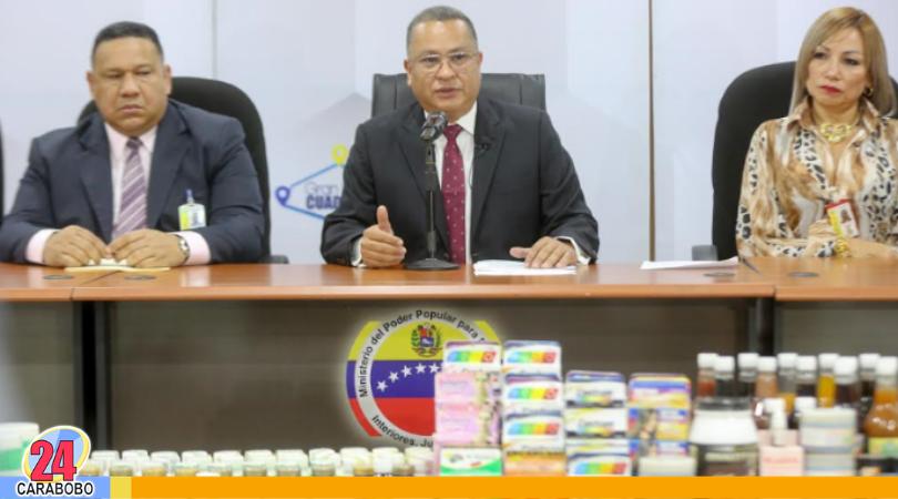 Medicinas falsas en Caracas fueron incautados por el CICPC