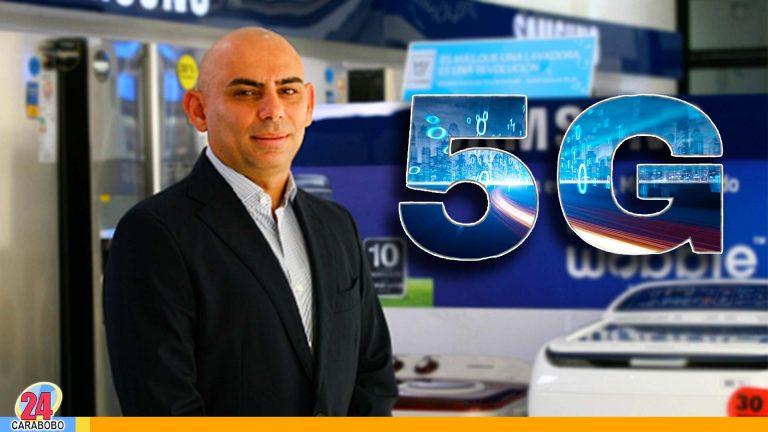 El empresario Nasar Dagga indica la parte excepcional de la moderna tecnología 5G