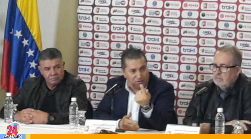 Nuevo director técnico de la Vinotinto presentado por el presidente de FVF