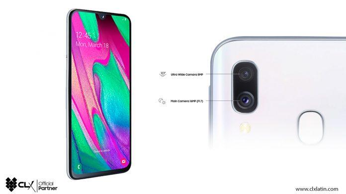 Samsung Galaxy A40 - Noticias 24 Carabobo