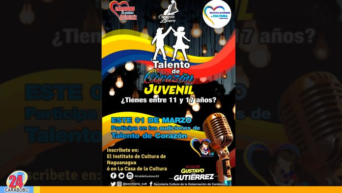 """""""Talento de Corazón Juvenil"""" - noticias 24 carabobo"""