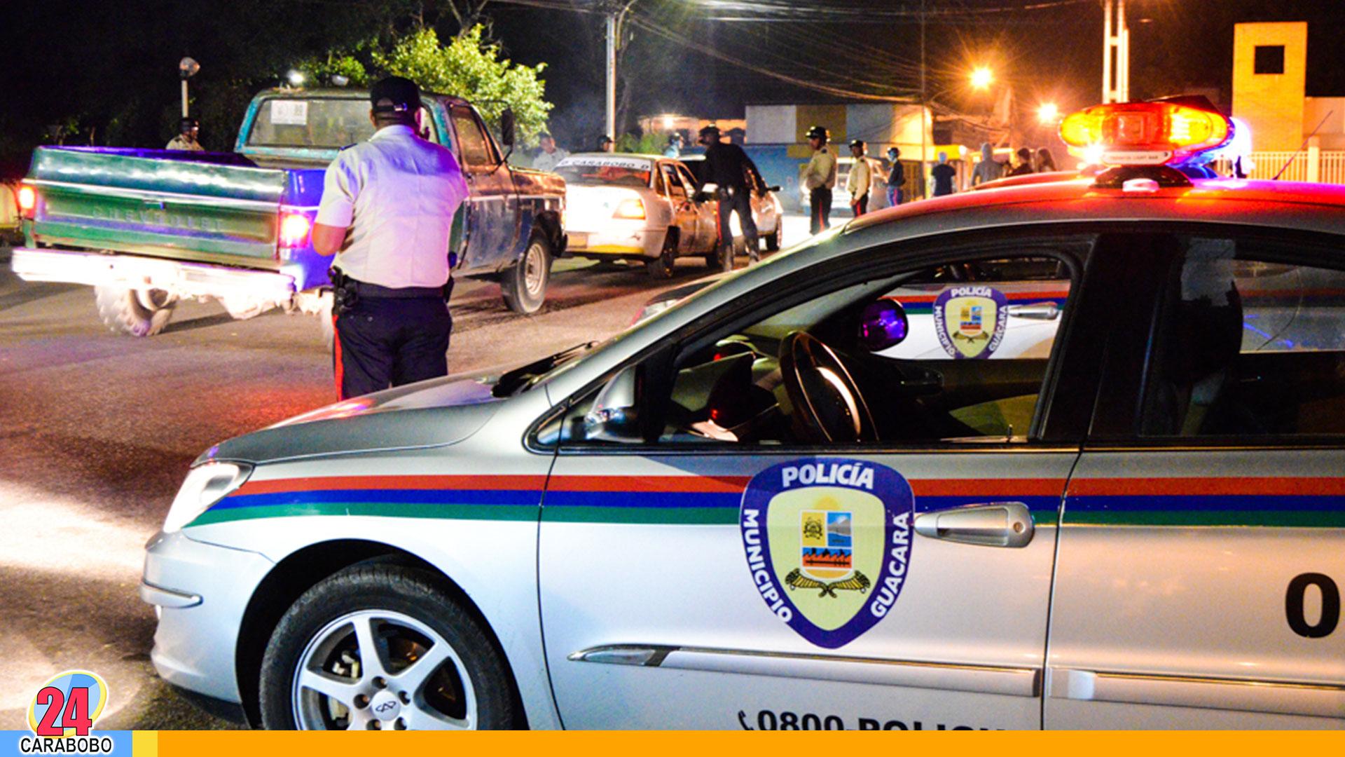 Policía de Guacara- noticias 24 carabobo