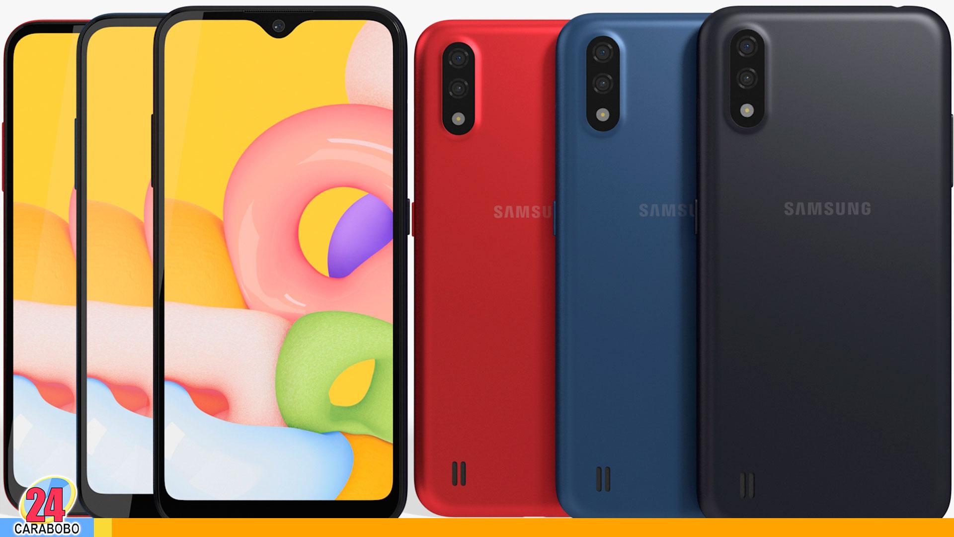 Samsung Galaxy A01 - noticias 24 carabobo