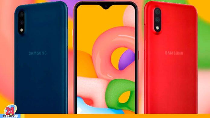 Samsung Galaxy A01- noticias 24 carabobo