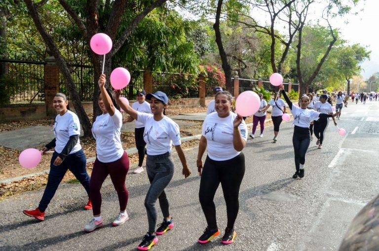 Día Internacional de la Mujer se celebró en Naguanagua con Caminata 5K