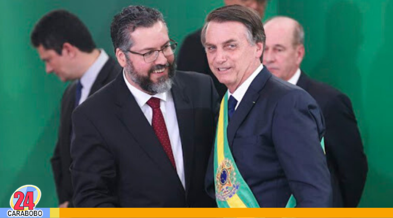 Brasil retira personal diplomático