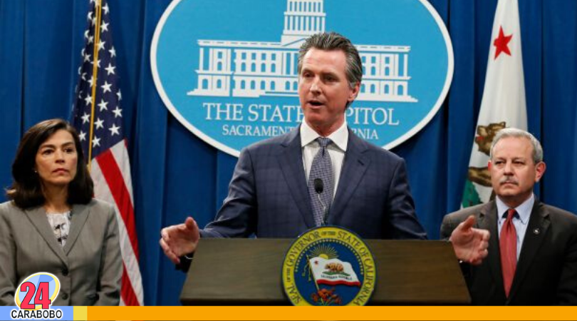 California en cuarentena - Noticias24