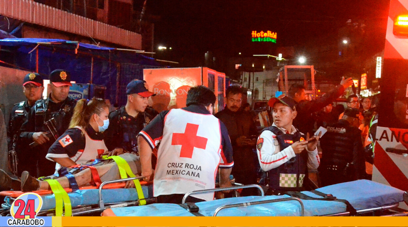 Choque de trenes en México