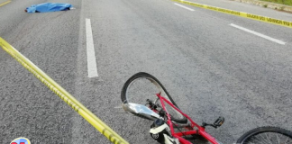 Ciclista atropellada en la capital