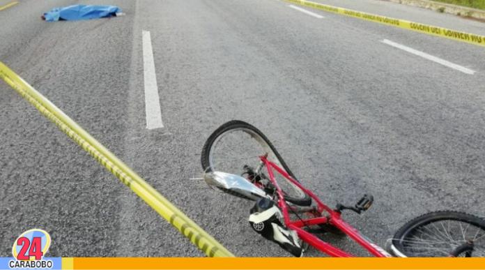 Ciclista atropellada en la capital
