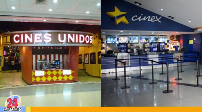 Cines Unidos y Cinex cierran salas