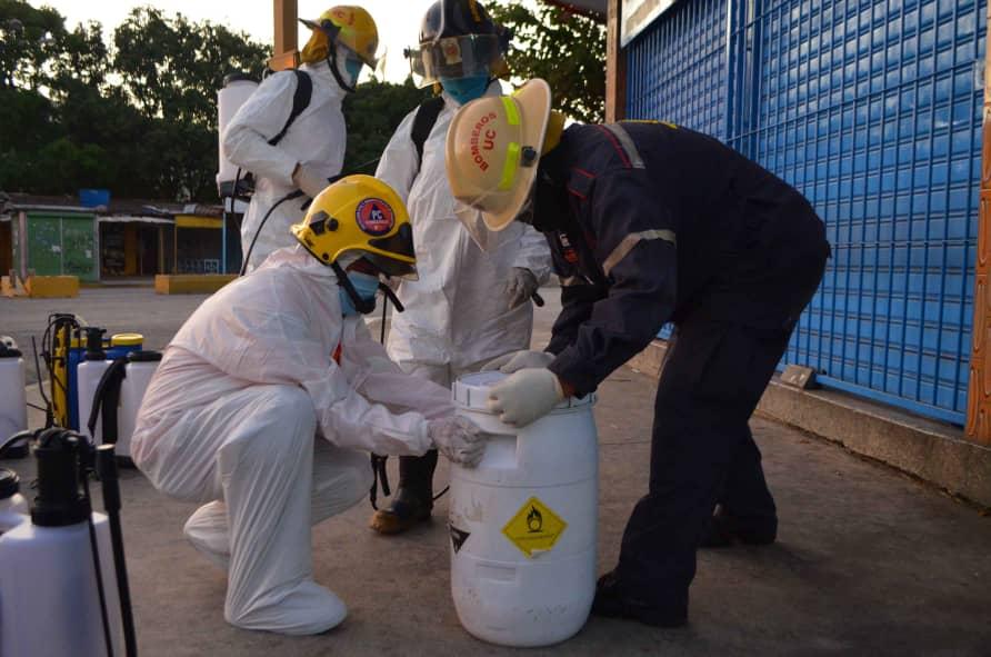 Plan de desinfección en Naguanagua- noticias 24 carabobo