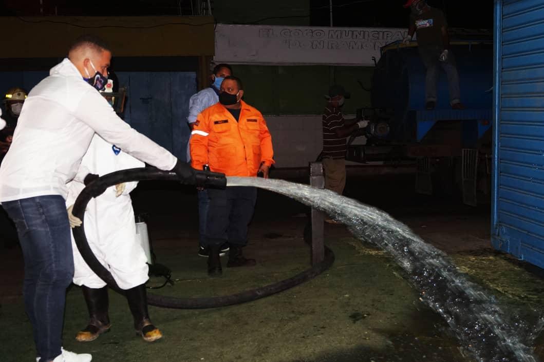 Plan de desinfección en Naguanagua- noticias24 carabobo