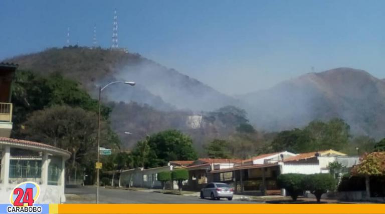¡Humo! Incendios en Carabobo contaminan a diario el aire