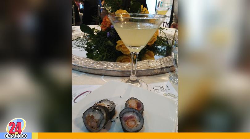 La Cata presentó una explosión de sabores con cócteles y sushi