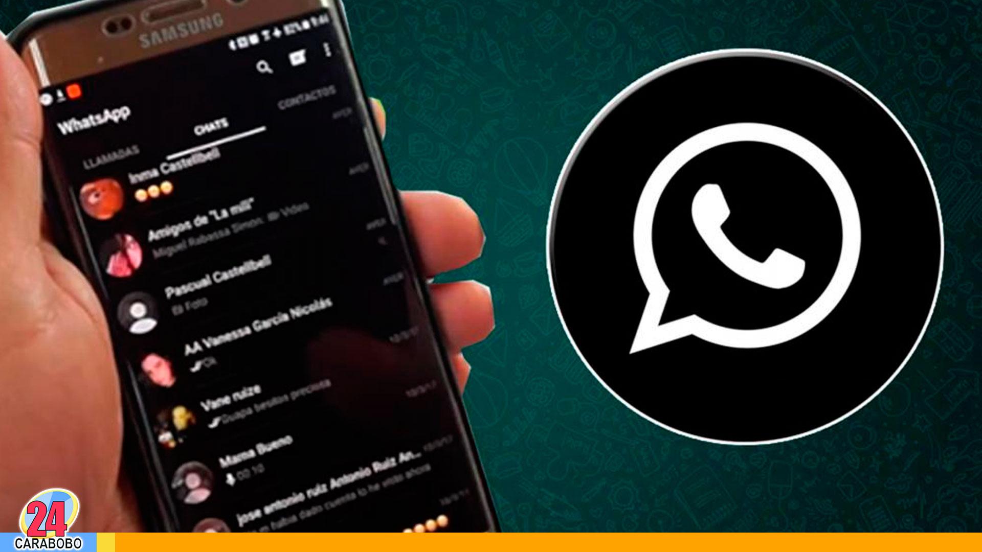 """Whatsapp """"Modo Oscuro"""" - noticias 24 carabobo"""