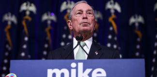 Michael Bloomberg se retira