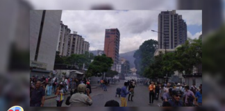 Protestas en Chacaíto