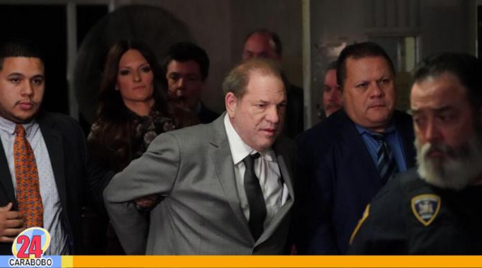 Sentencia a Harvey Weinstein