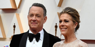 Tom Hanks con coronavirus