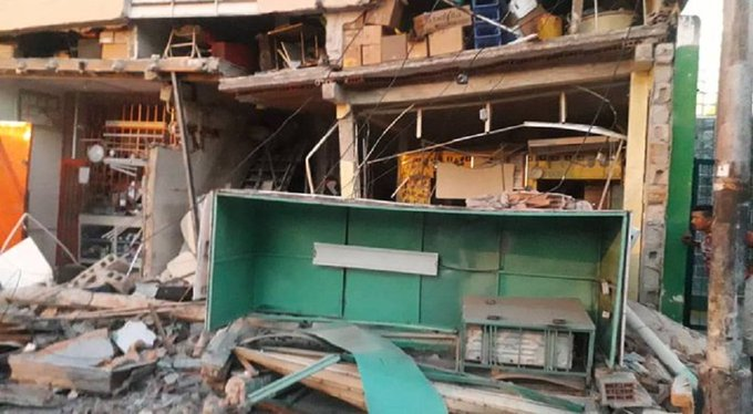 Explotó una vivienda en Maracay - Explotó una vivienda en Maracay