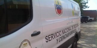 Asesinaron a un mensajero en Caracas - Asesinaron a un mensajero en Caracas