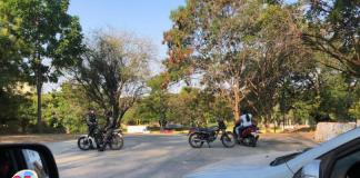 cierre de accesos a municipios de Carabobo